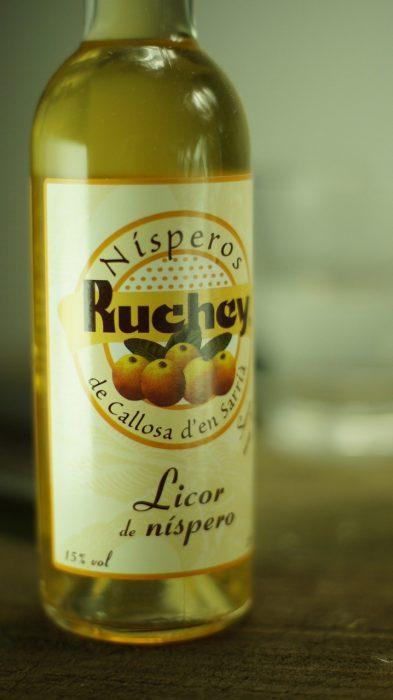 Licor de Níspero Ruchey