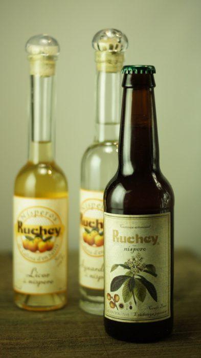 Licores y Cerveza de nispero Ruchey 1
