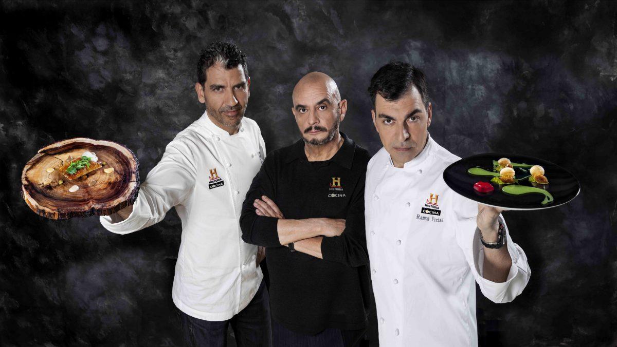 Ramón Freixa, Paco Roncero y Miguel Angel Almodovar