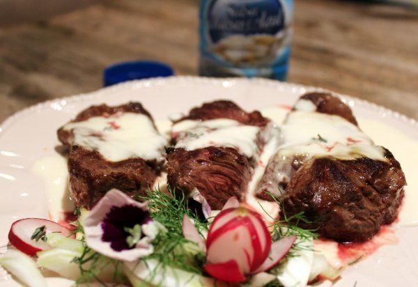 Solomillo En Salsa De Queso Azul Fácil Y Delicioso