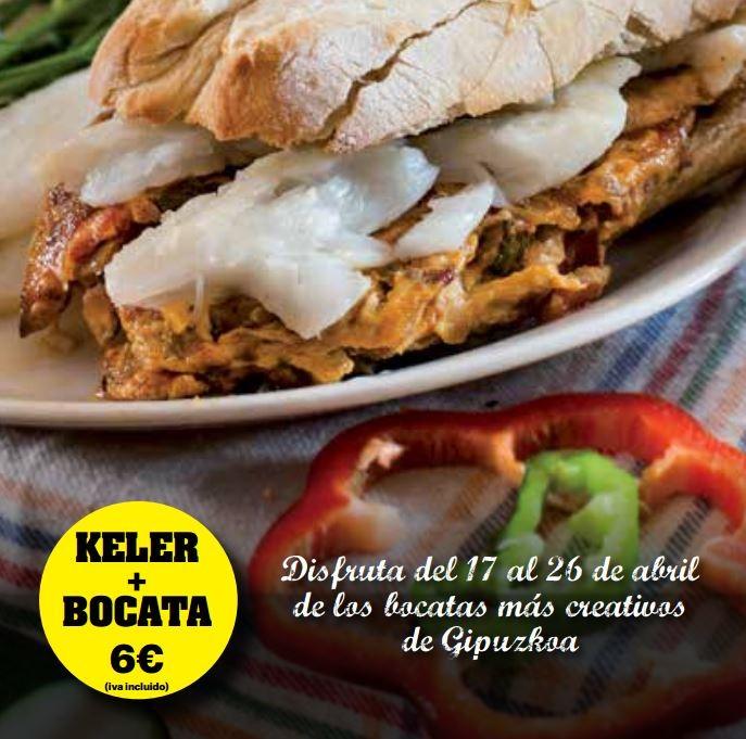 cartel concurso bocadillos guipuzkoa