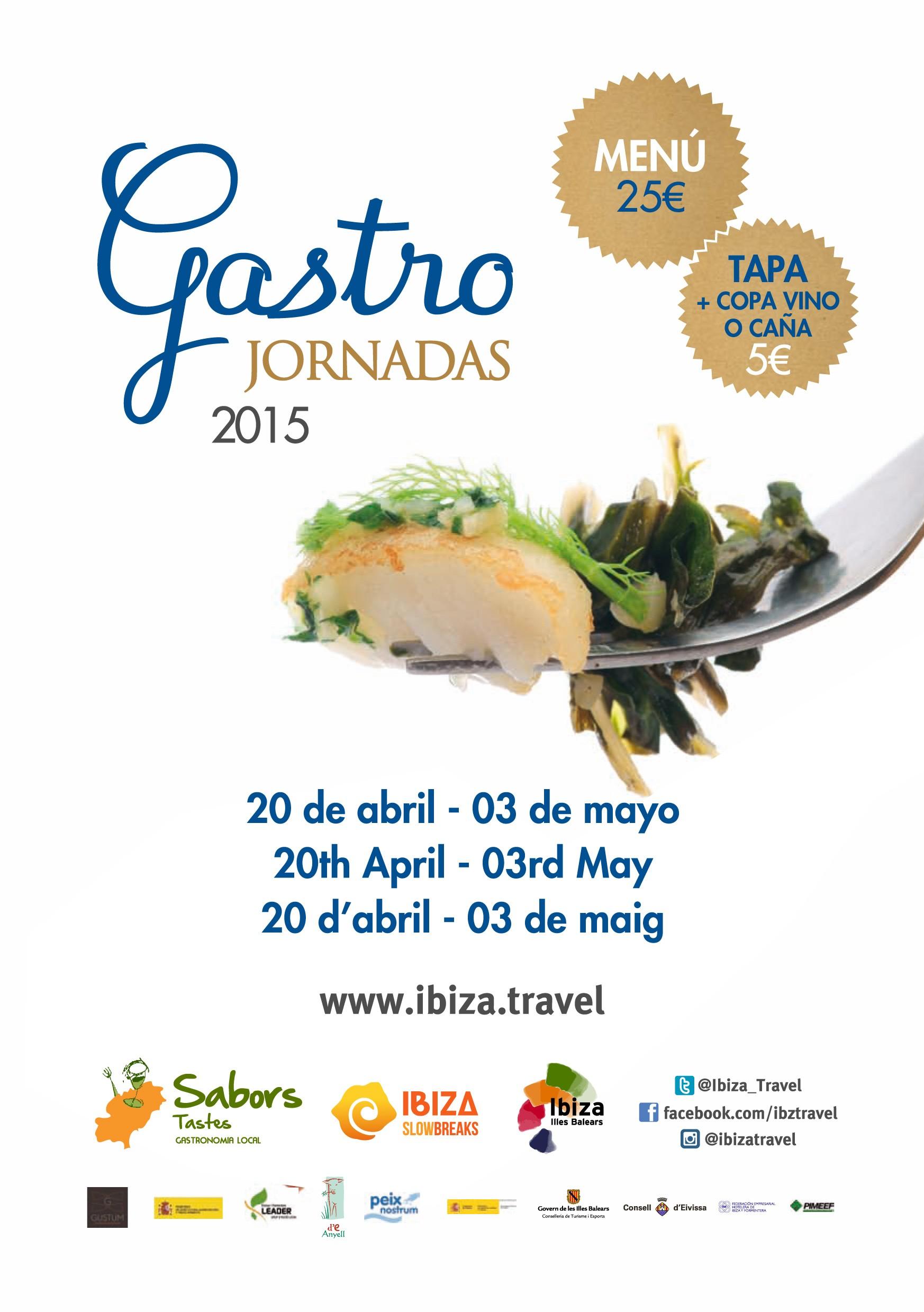 Gastro Jornadas Ibiza - Ibiza 5 Sentidos