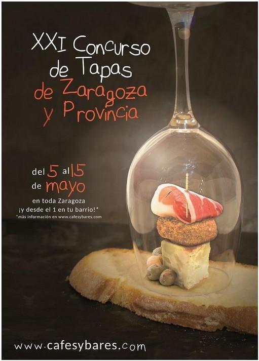 CONCURSO DE TAPAS DE ZARAGOZA Y PROVINCIA - 2015