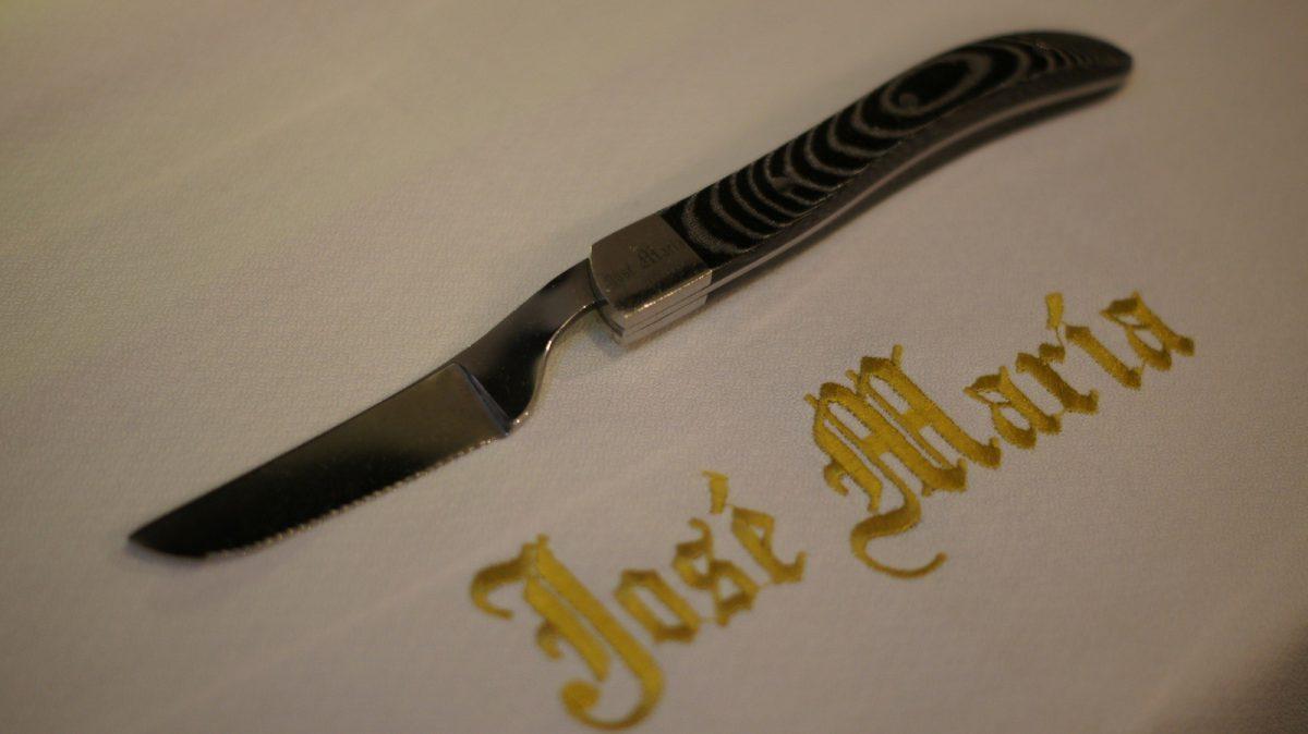 El cuchinillo, nuevo cuchillo de José María