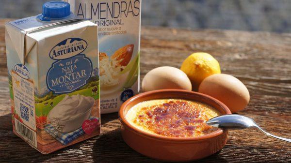 Ingredientes de la Crema Catalana
