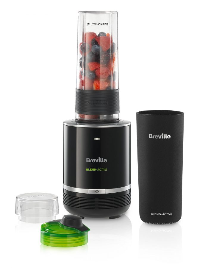 Breville Blend-Active Pro Blender, 300 W, Black