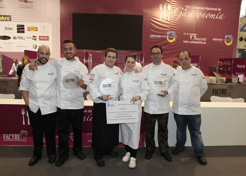 equipo nacional de gastronomia