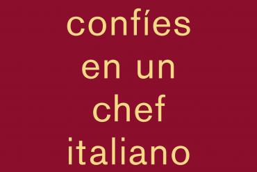Massimo Bottura: Nunca confíes en un chef italiano delgado