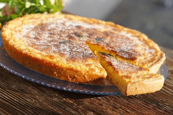FLAÓ, tarta de queso típica de Ibiza