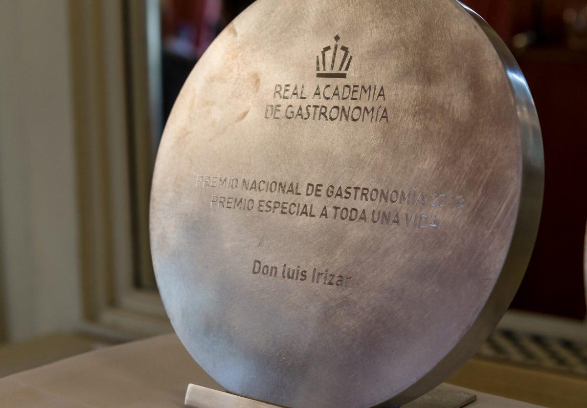Galardón Premios Nacionales de Gastronomía 2014