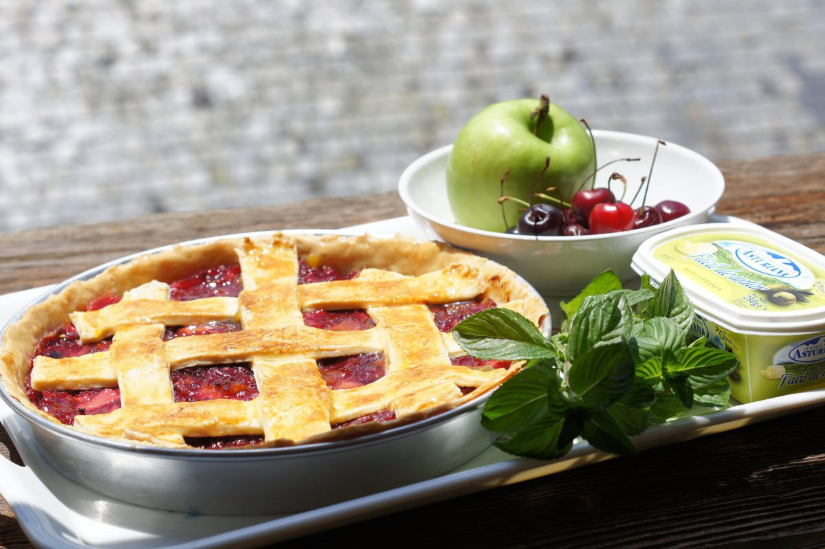 Ingredientes Tarta de Cerezas o Cherry Pie