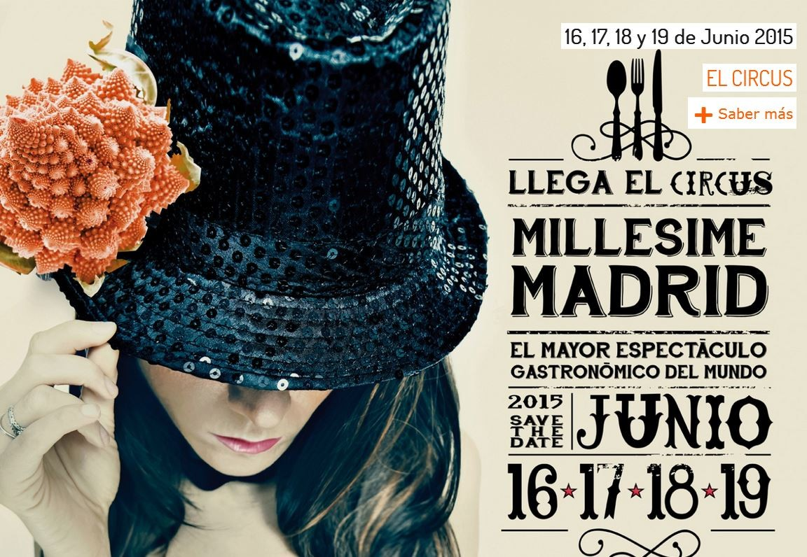 Millesime Madrid 2015 - cartel