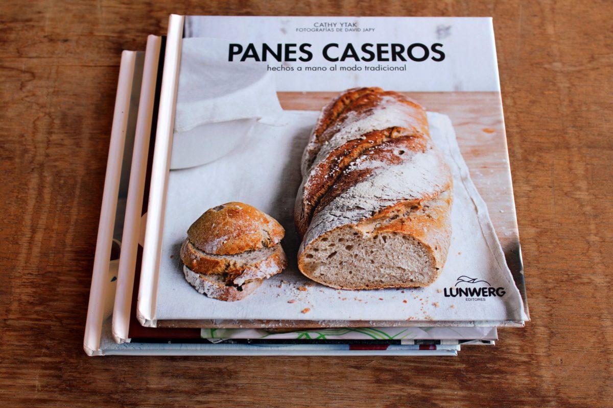 panes caseros - libro recetas