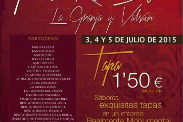 Tapeando por el Real Sitio y Valsaín 2015