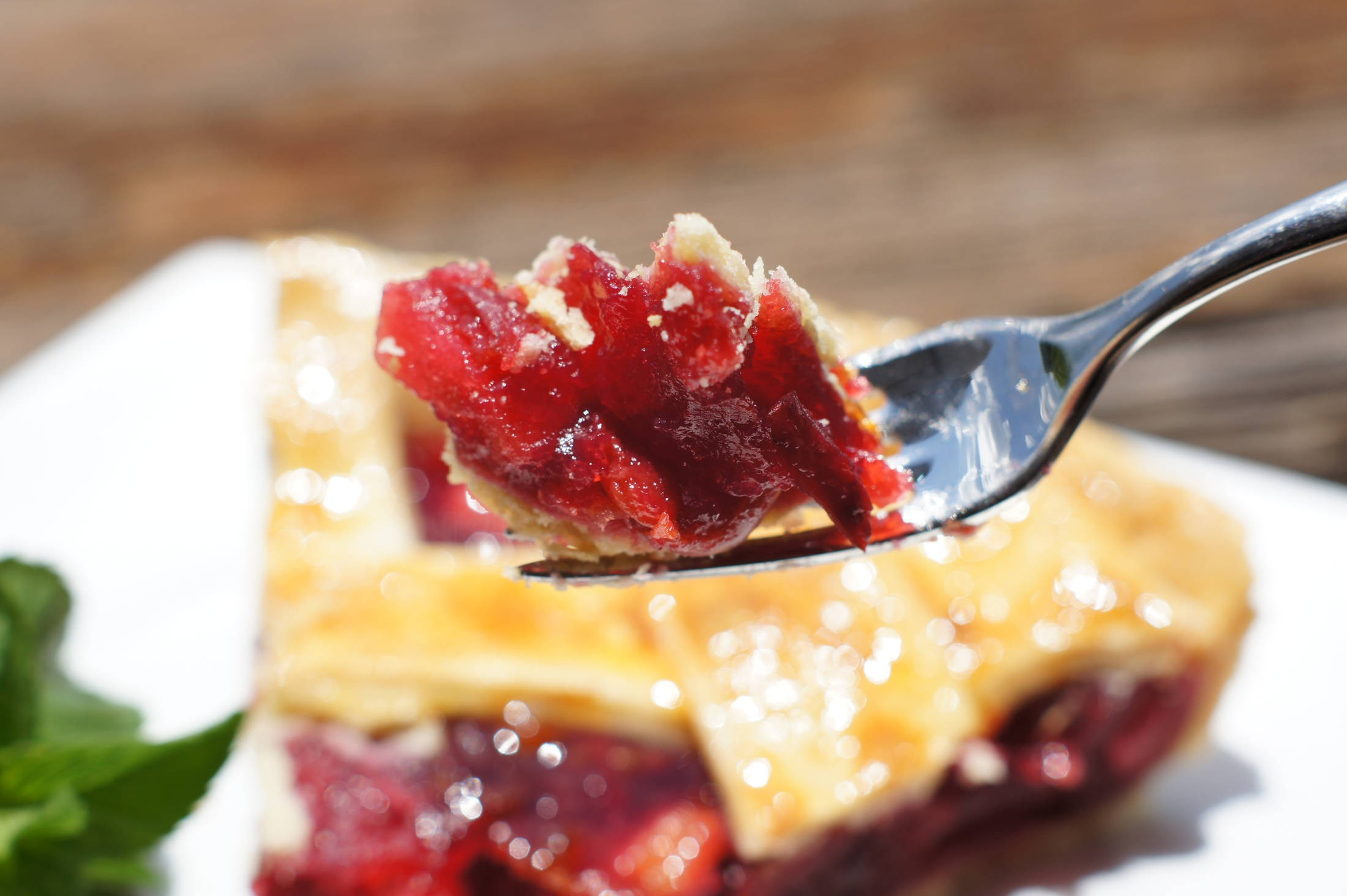 Tarta de cerezas Cherry Pie, una receta tradicional muy buena