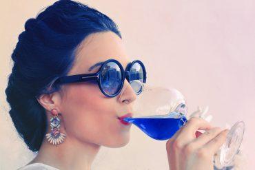 Gïk ,el vino azul