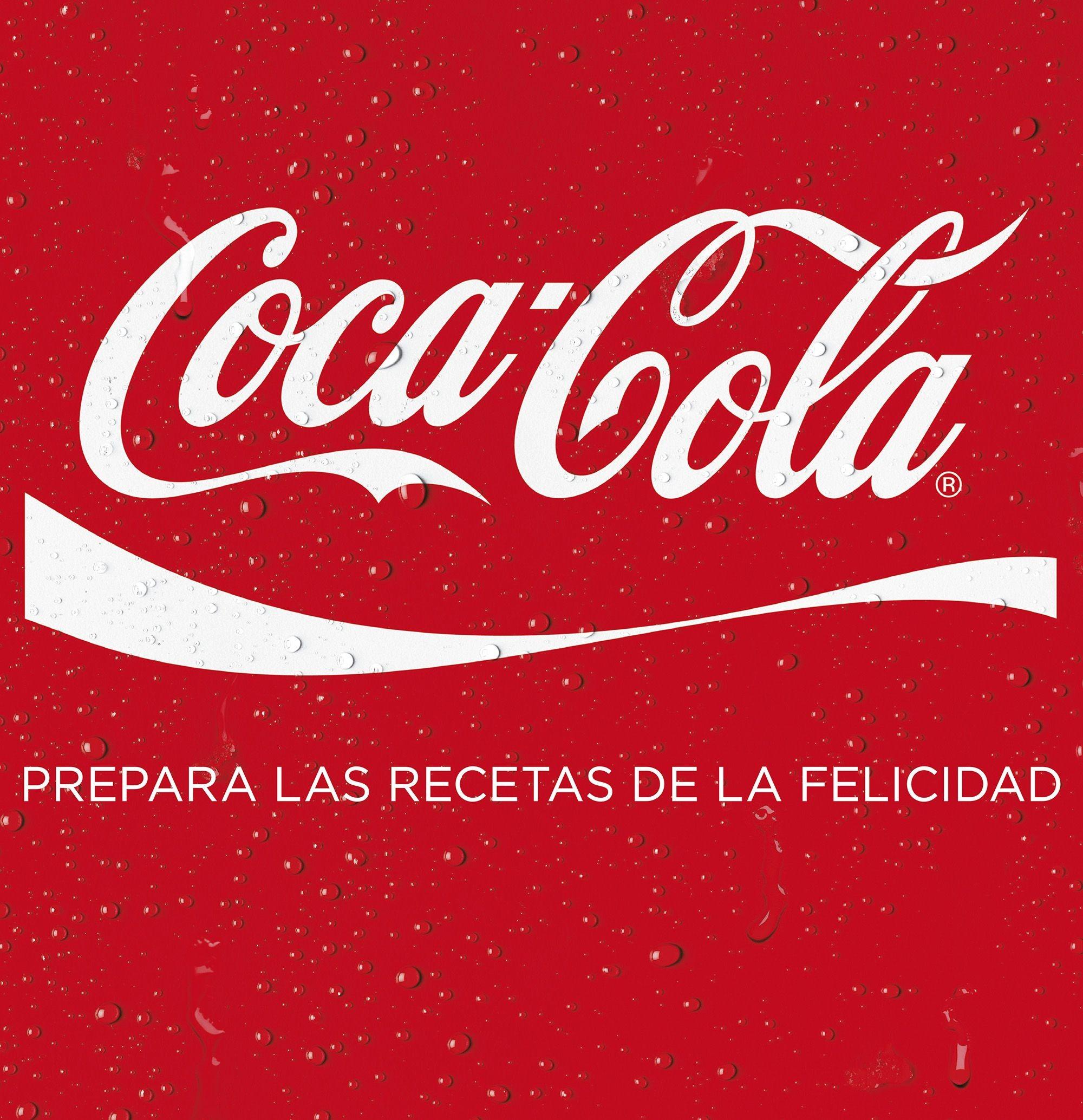Coca-Cola, prepara las recetas de la felicidad
