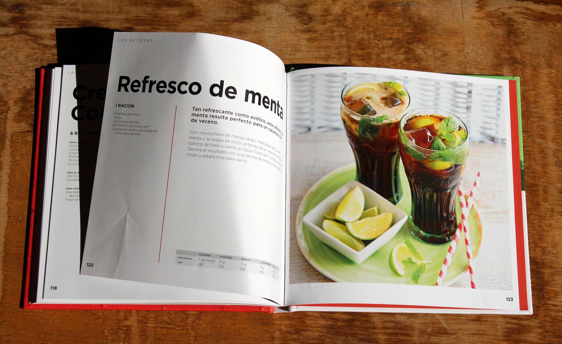 Recetas con Coca-Cola, el libro