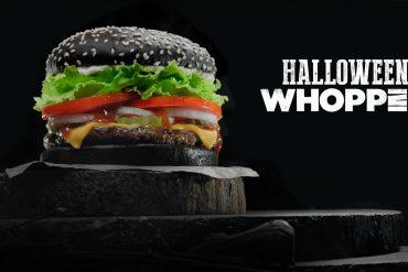 Halloween Whopper Burger king
