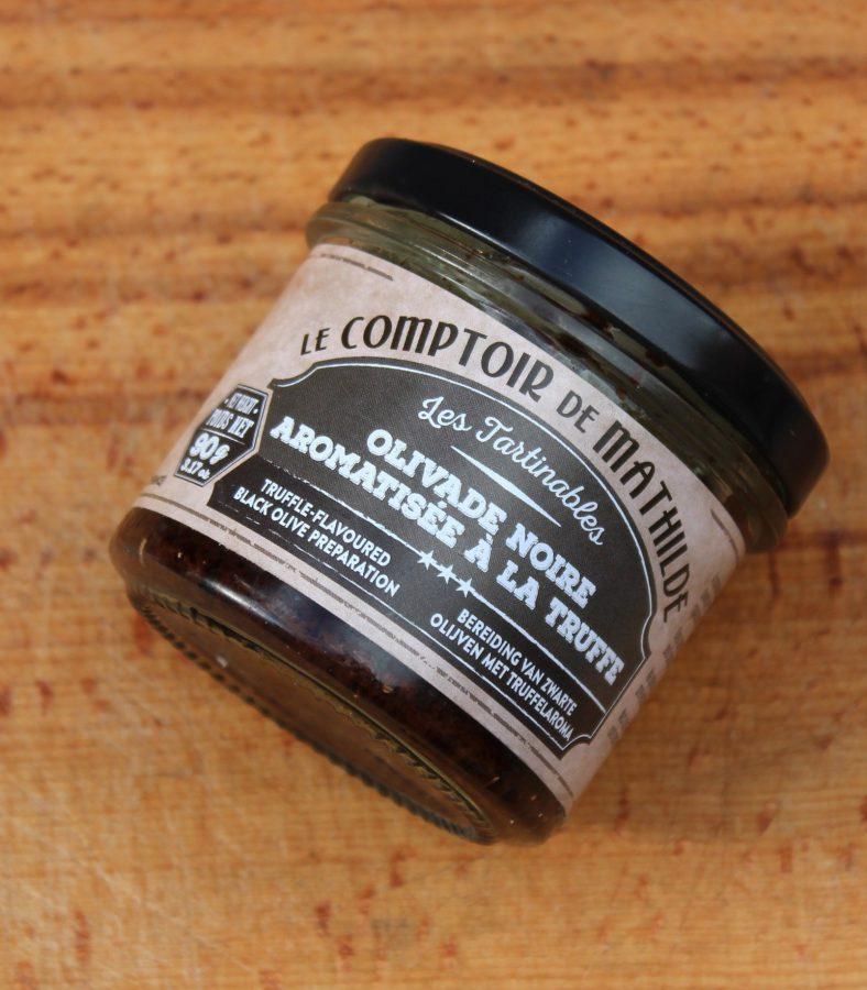 Tapenade de Aceitunas con aroma a la trufa