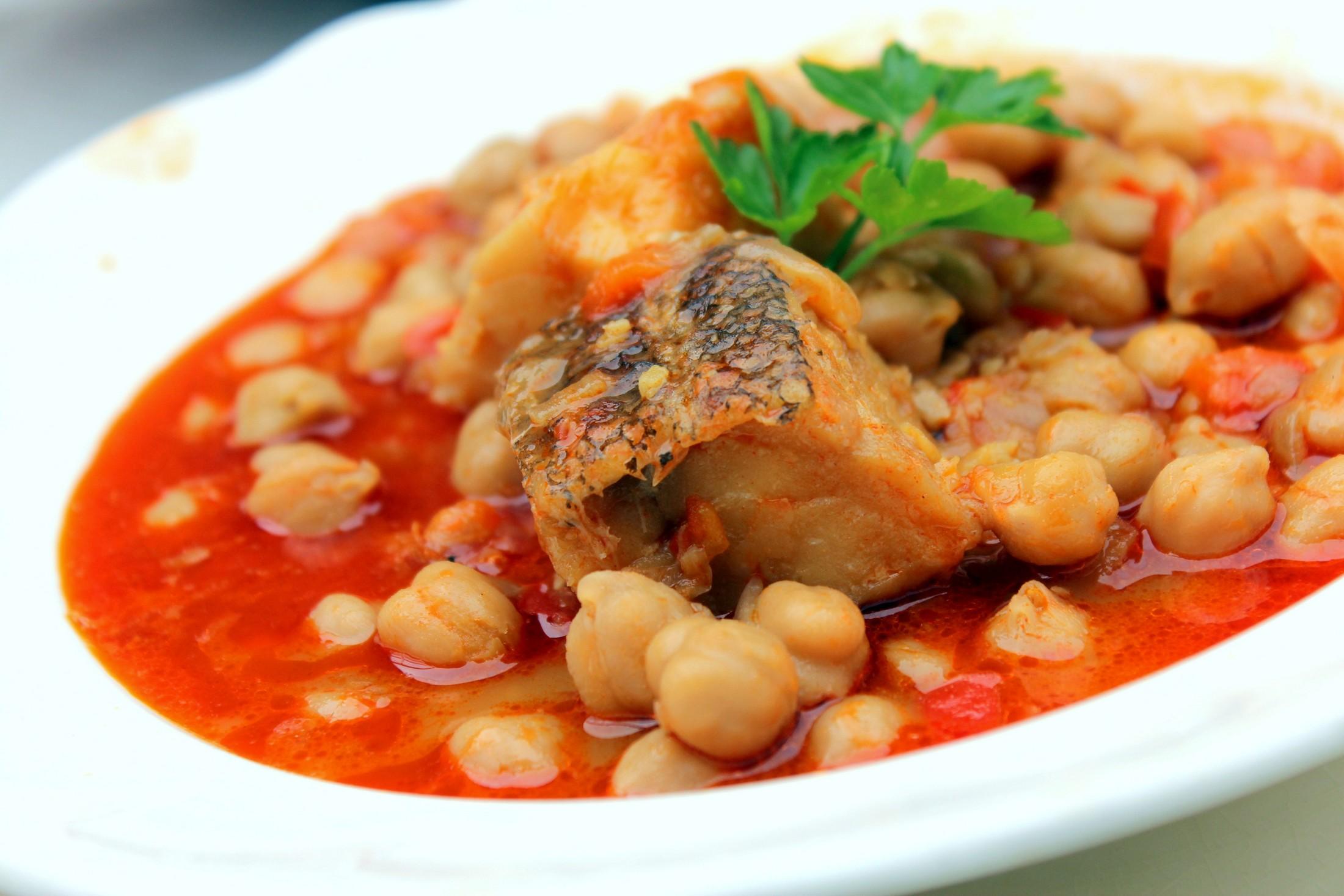 Potaje de garbanzos y bacalao blog de cocina - Potaje de garbanzos y judias ...