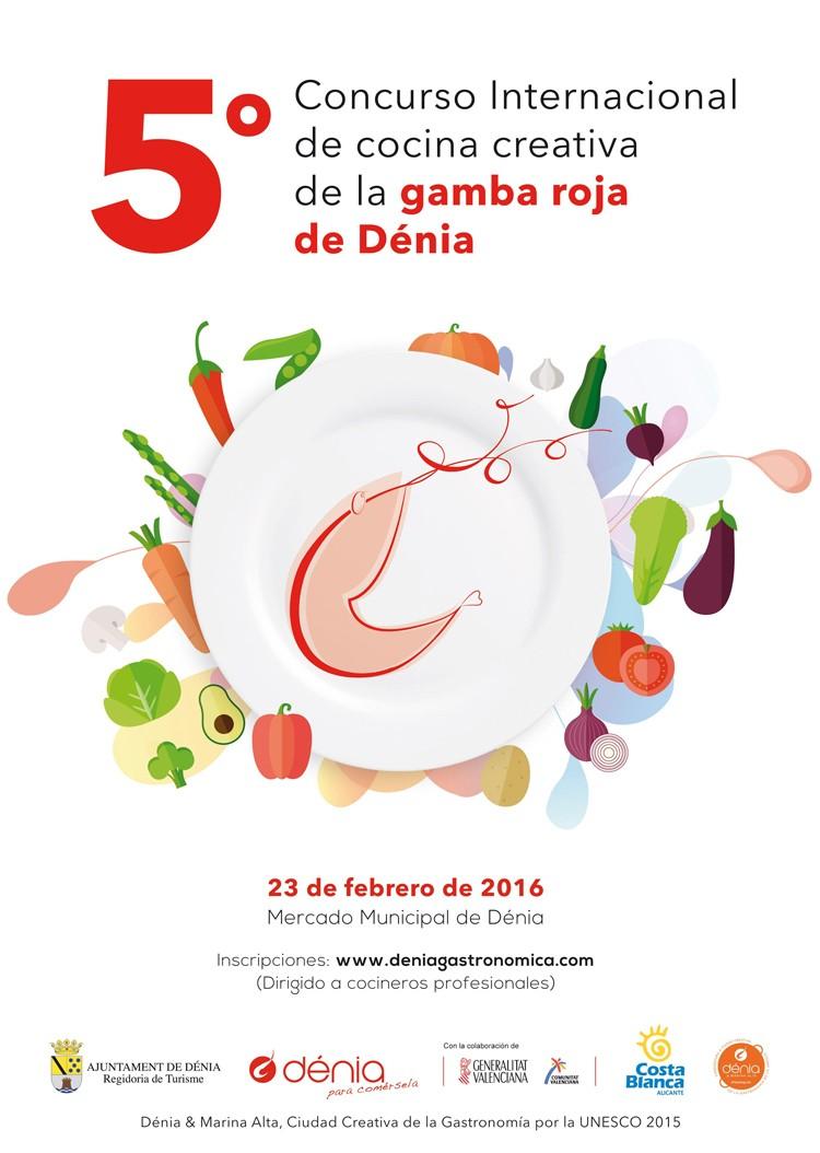 5º Concurso Cocina Creativa Gamba Roja de Dénia