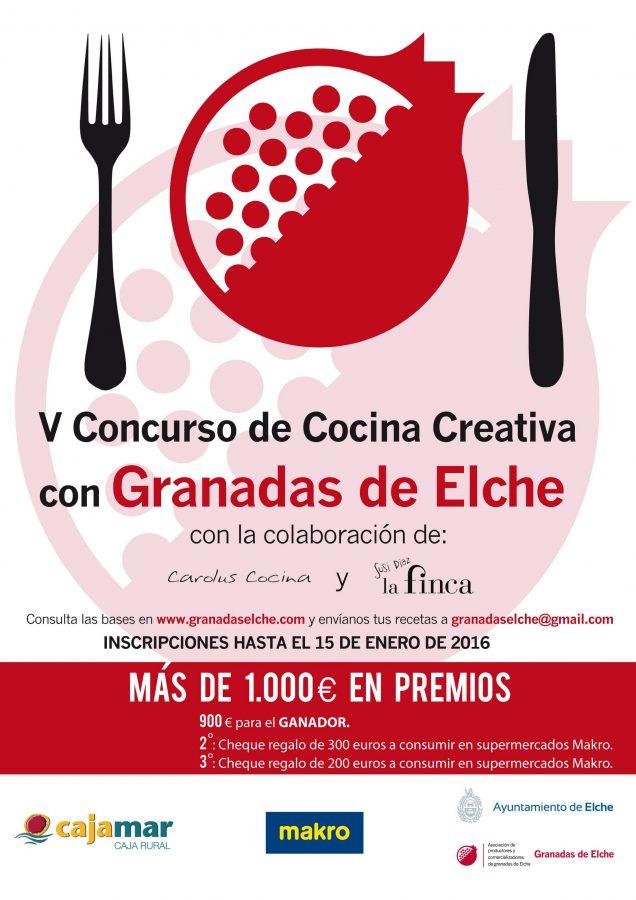Cocina Creativa con Granadas de Elche 2016