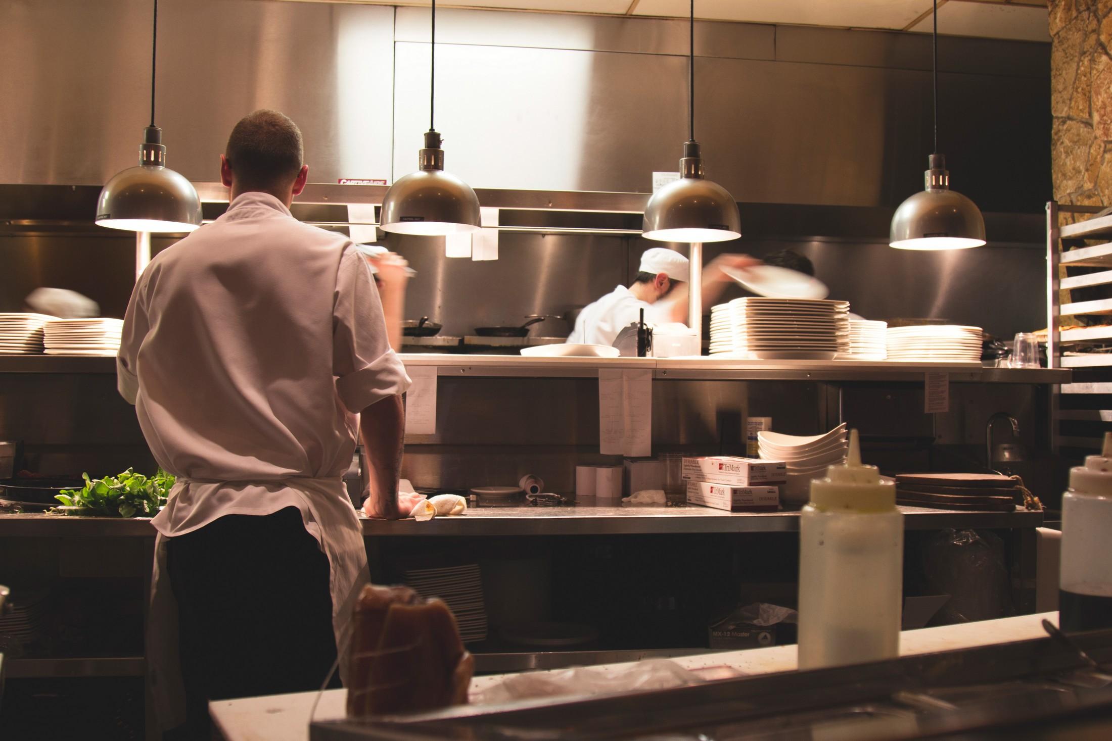 Cocineros cocina restaurante