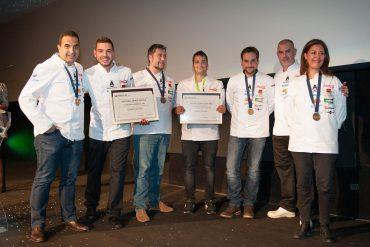 Cristóbal Muñoz y Ruben Osorio - Concurso Cocinero del Año 2016