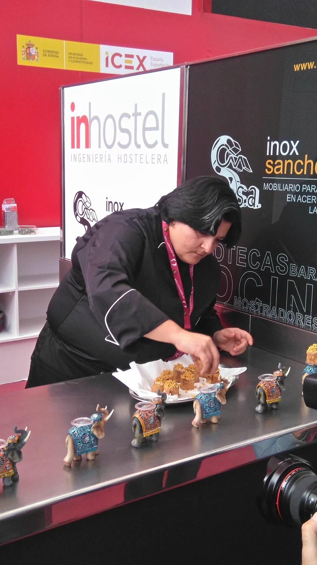 Isabel González, del restaurante Don Bacalao de Valladolid
