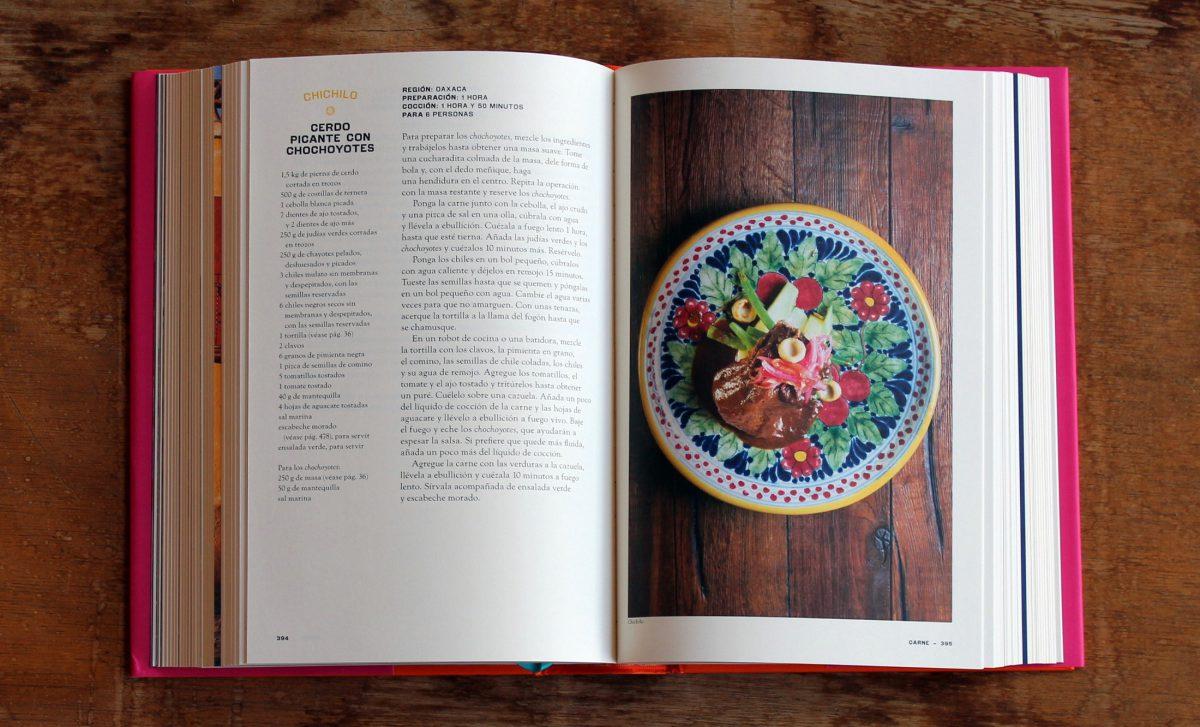 México, libro de recetas de Margarita Carrillo Arronte