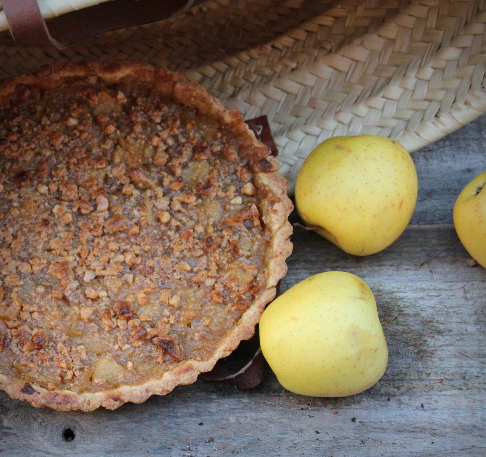 PastaFlora de Manzana y turrón