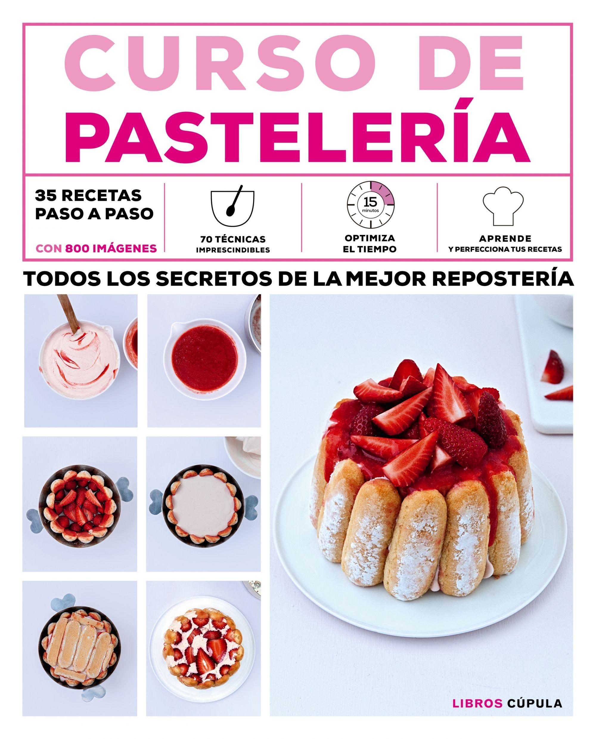 Curso de pastelería, libro de cocina