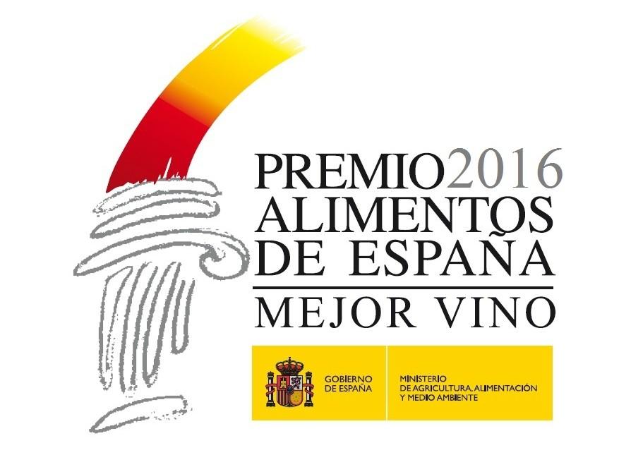 Logo Premio Alimentos de España al Mejor Vino 2016