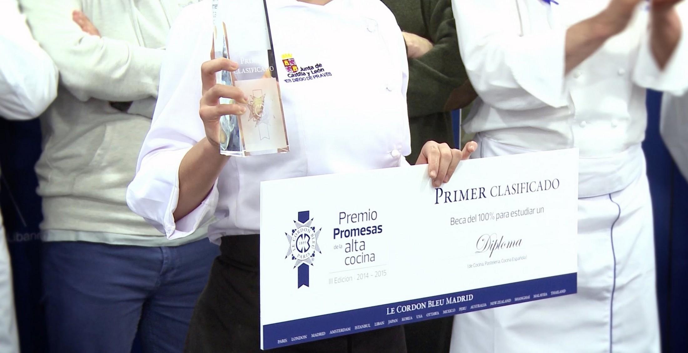 Premio Promesas de la Alta Cocina 2014 - 2015