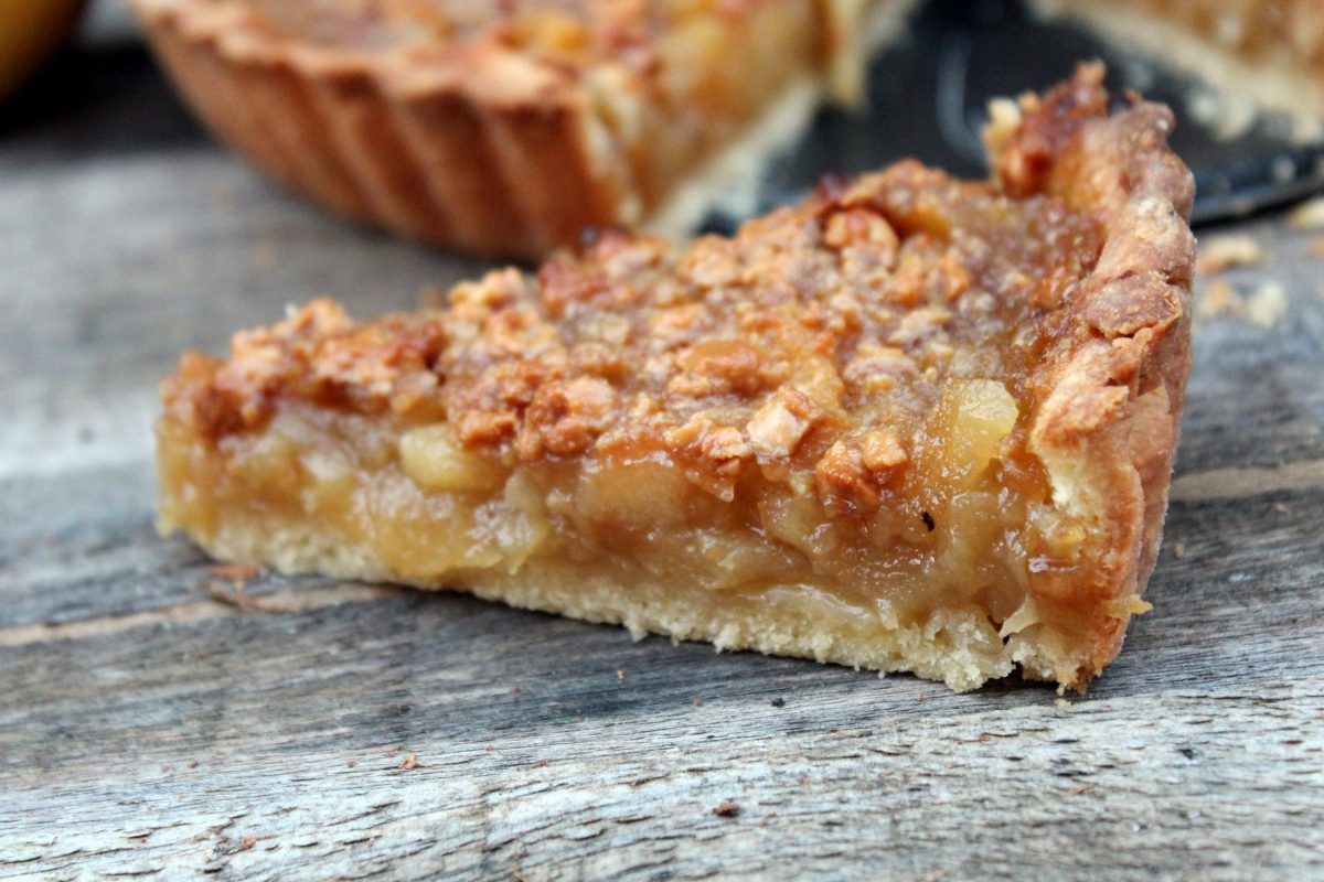 Tarta de Manzana y turrón