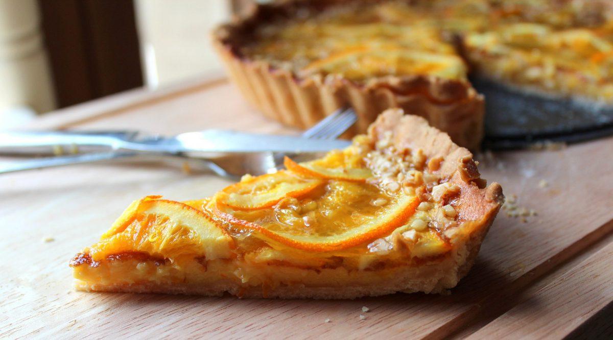 Tarta de Naranja en Pastaflora