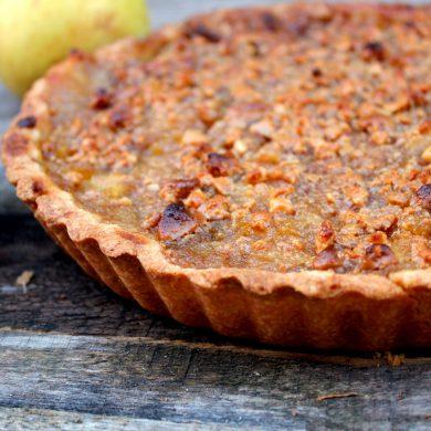 tarta PastaFlora de Manzana y turrón