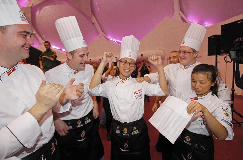 Teo Jun Xiang, vencedor del Concurso de Escuelas de Cocina