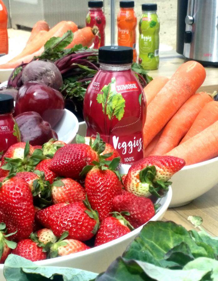 Veggies, los zumos más naturales de Zumosol