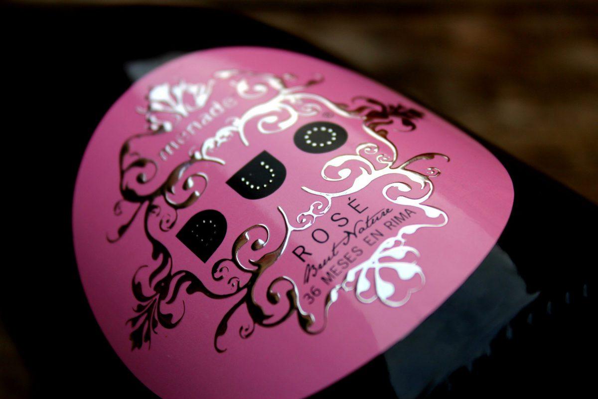 Vino espumoso Duo Rosé de Bodega Menade