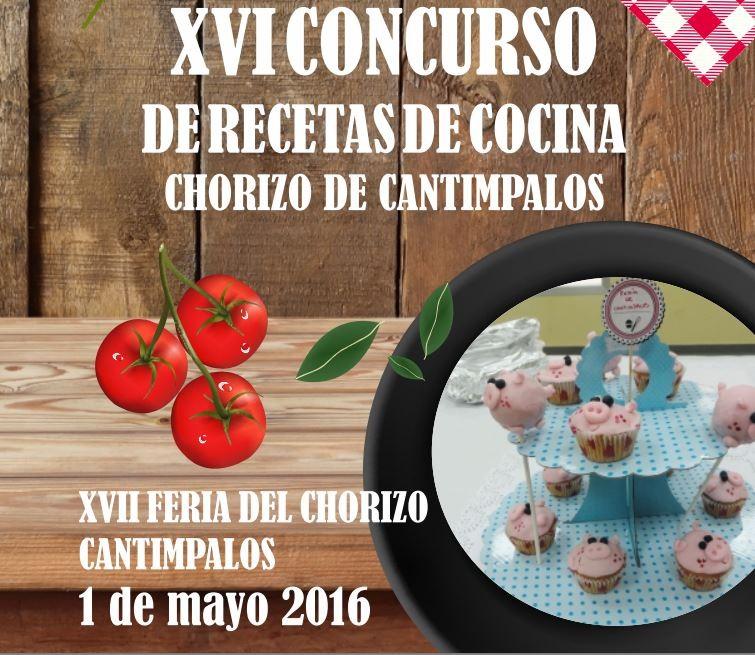 Cartel Feria del Chorizo de Cantimpalos 2016