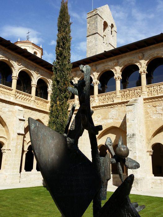 Claustro monasterio Santa María de Valbuena (1)