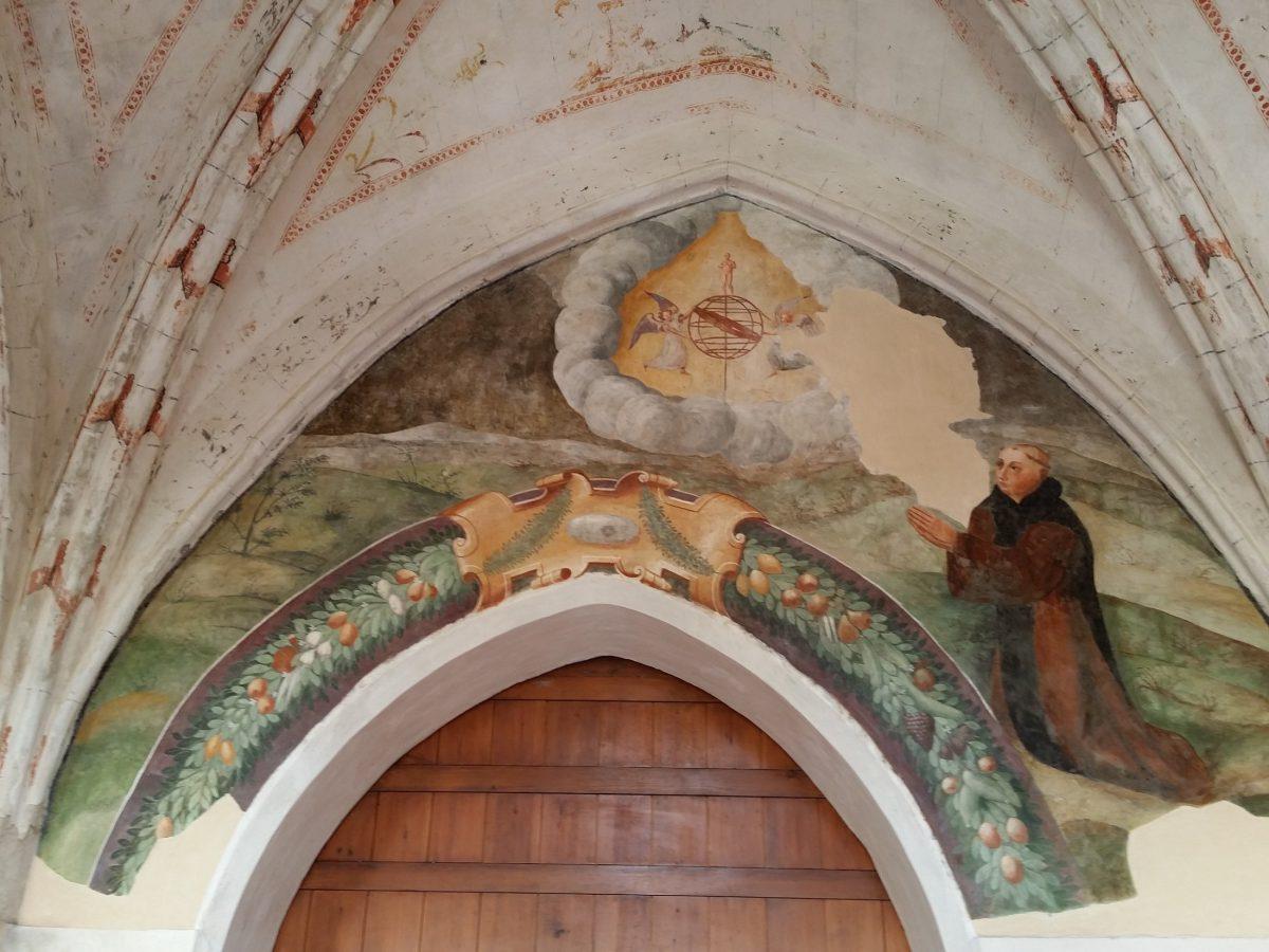 frescos Balneario Monasterio de Valbuena