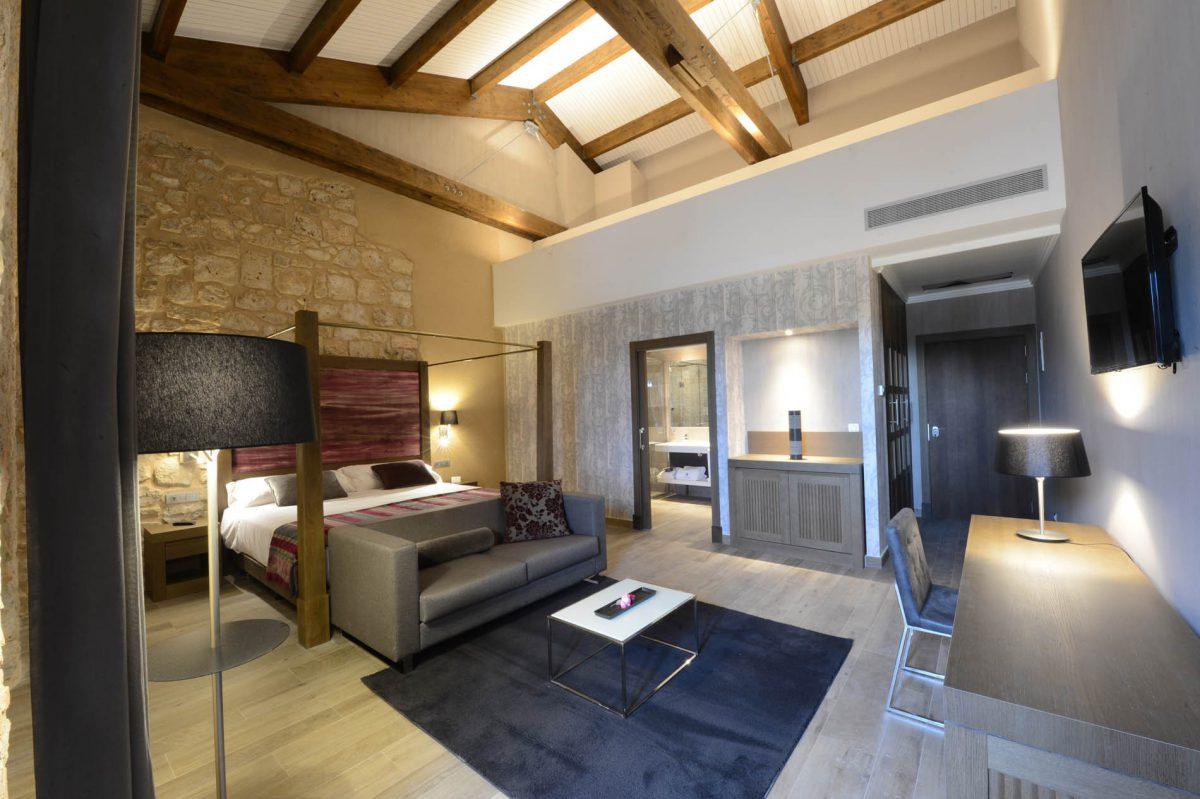Habitación Hotel Monasterio de Santa María de Valbuena