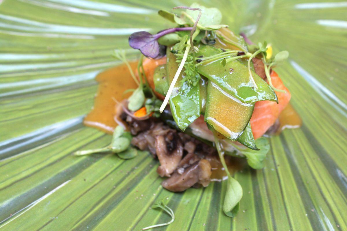 Trucha escabechada con verduras - Rodrigo de la Calle - El Invernadero
