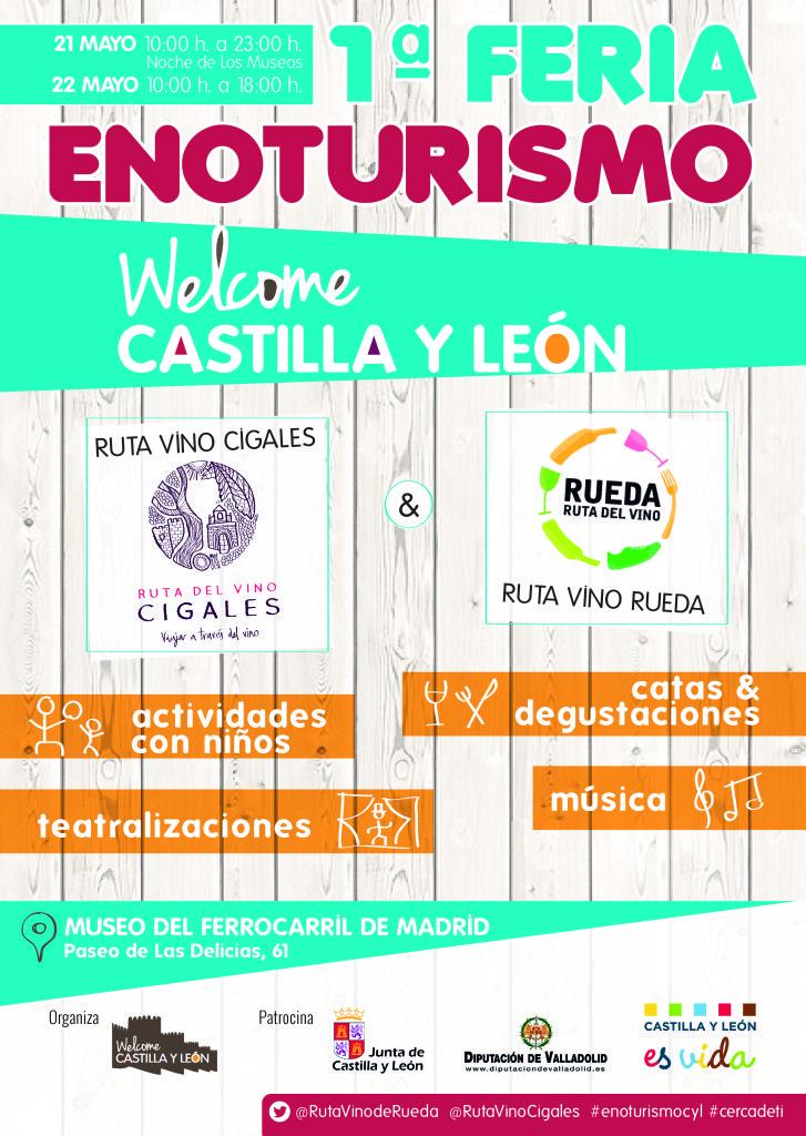 I Feria de Enoturismo de Castilla y León en Madrid
