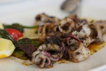 Calamares con sobrasada (Sa Nansa)
