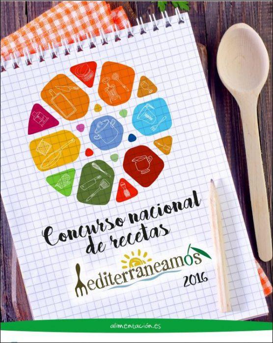 cartel concurso nacional de recetas mediterraneamos 2016