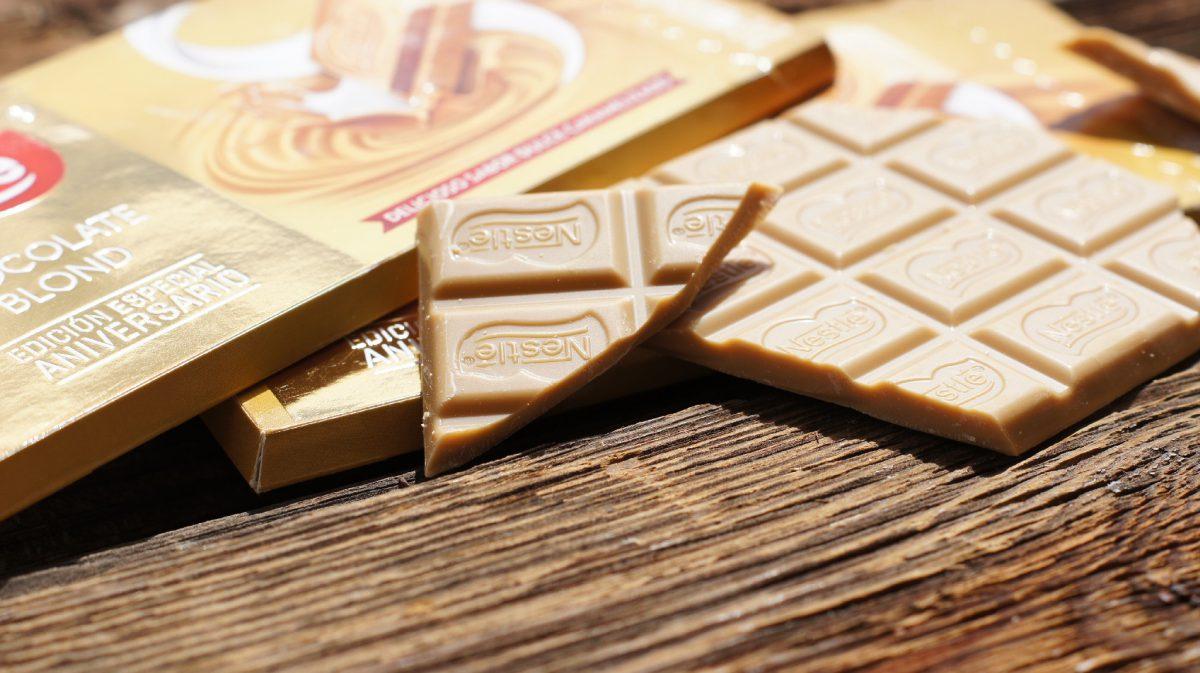 Chocolate Nestlé Blond